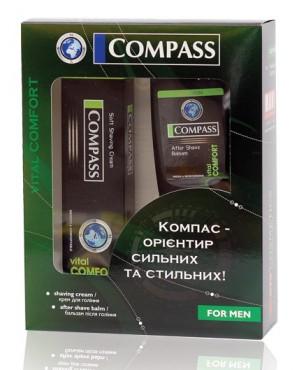 Набор подарочный BLACK Vital Comfort (крем для бритья+бальзам после бритья)