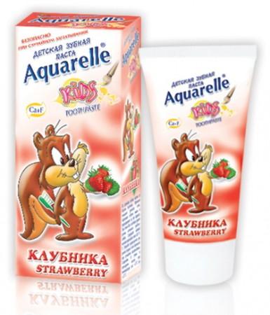 Детская зубная паста Strawberry 50 ml