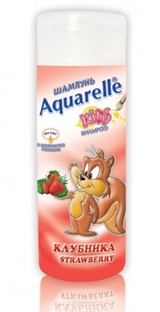 Aquarelle Kids детский шампунь Клубника 200мл.