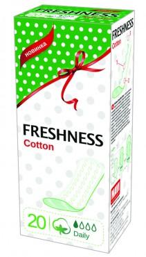 Гигиенические прокладки ежедневные Cotton Soft 20шт