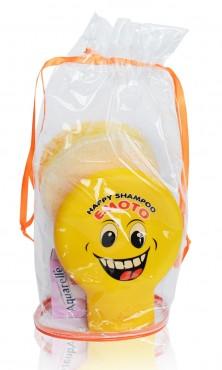 ЕМОТО детский подарочный набор (шампунь 250мл + губка банная + мыло 75 гр)