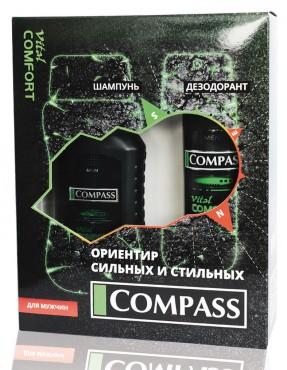 Набор подарочный Vital Comfort (дезодорант+шампунь)
