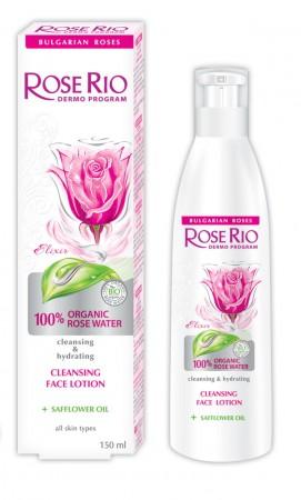Rose Rio Очищающий лосьон для лица 150 мл.