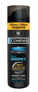 Пена для бритья Ice Energy 300 ml