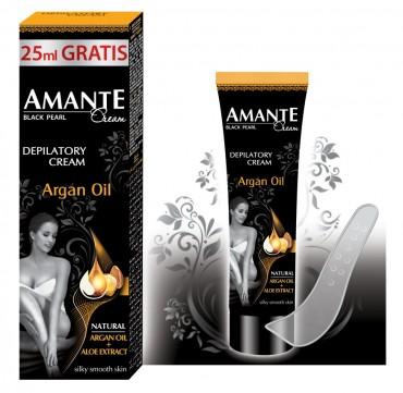 Amante крем для депиляции 100 мл. с аргановым маслом