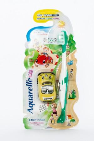 Aguarelle kids детские зубные щетки с автомобилем