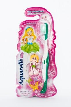 Детские зубные щётки с брелком куклой