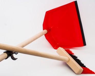 """Комплект для подметания """"Ленивец"""" (щетка + совок с высокой ручкой)"""