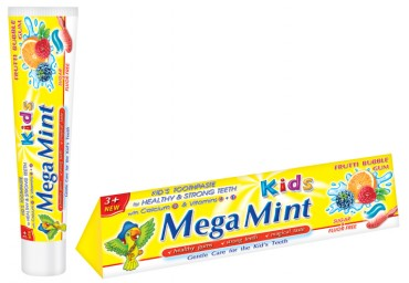 Детская зубная паста Frutti Bubble Gum 50 ml