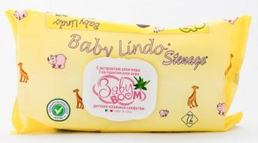 Baby Boom детские влажные салфетки с экстрактом алое вера и аллантоином.
